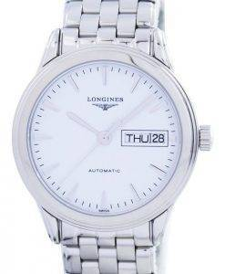 Longines Flagship Automatic Power Reserve 25 Jewels L4.799.4.12.6 Mens Watch
