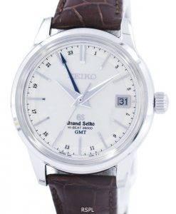 Grand Seiko HI-BEAT 36000 GMT Automatic Power Reserve 37 Jewels SBGJ017 Men's Watch