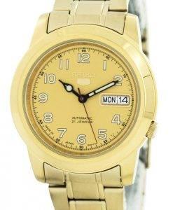 Seiko 5 Automatic 21 Jewels Japan Made SNKK38 SNKK38J1 SNKK38J Men's Watch
