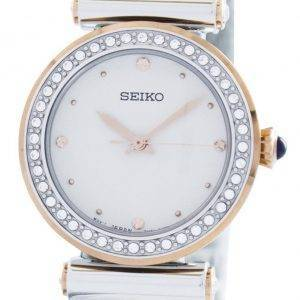 Seiko Quartz 44 Swarovski Crystals SRZ466 SRZ466P1 SRZ466P Women's Watch