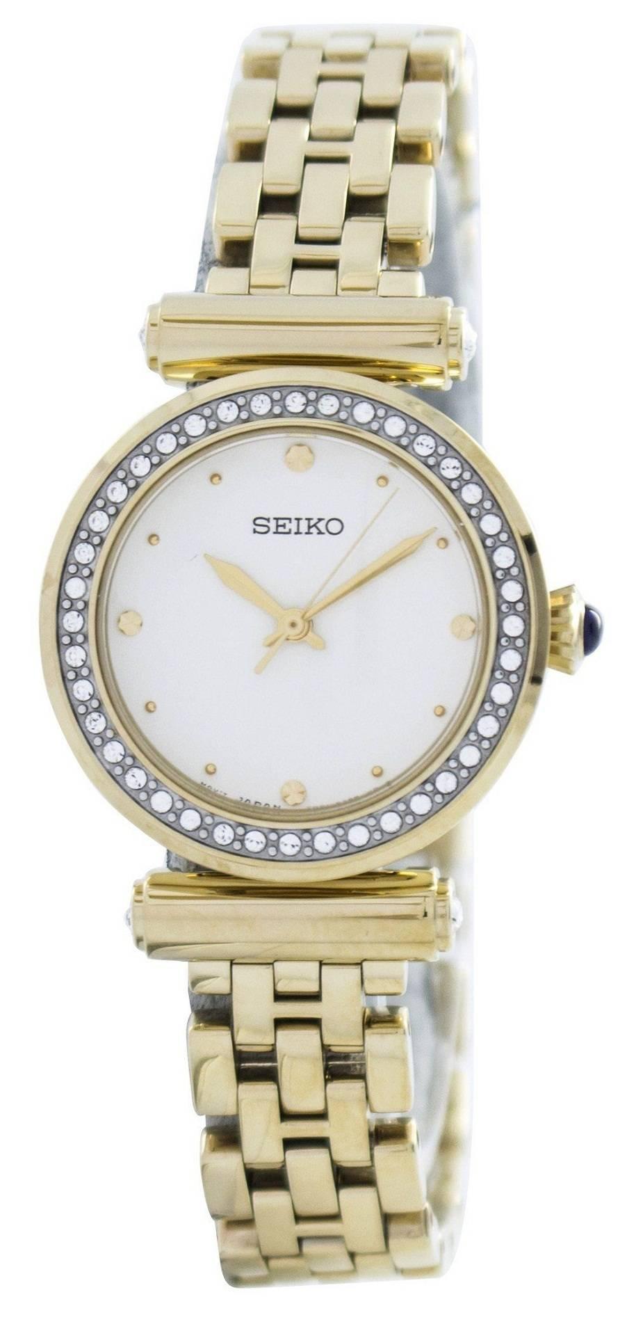 Seiko quartz 44 swarovski crystals srz468 srz468p1 srz468p women 39 s watch for Swarovski crystals watch