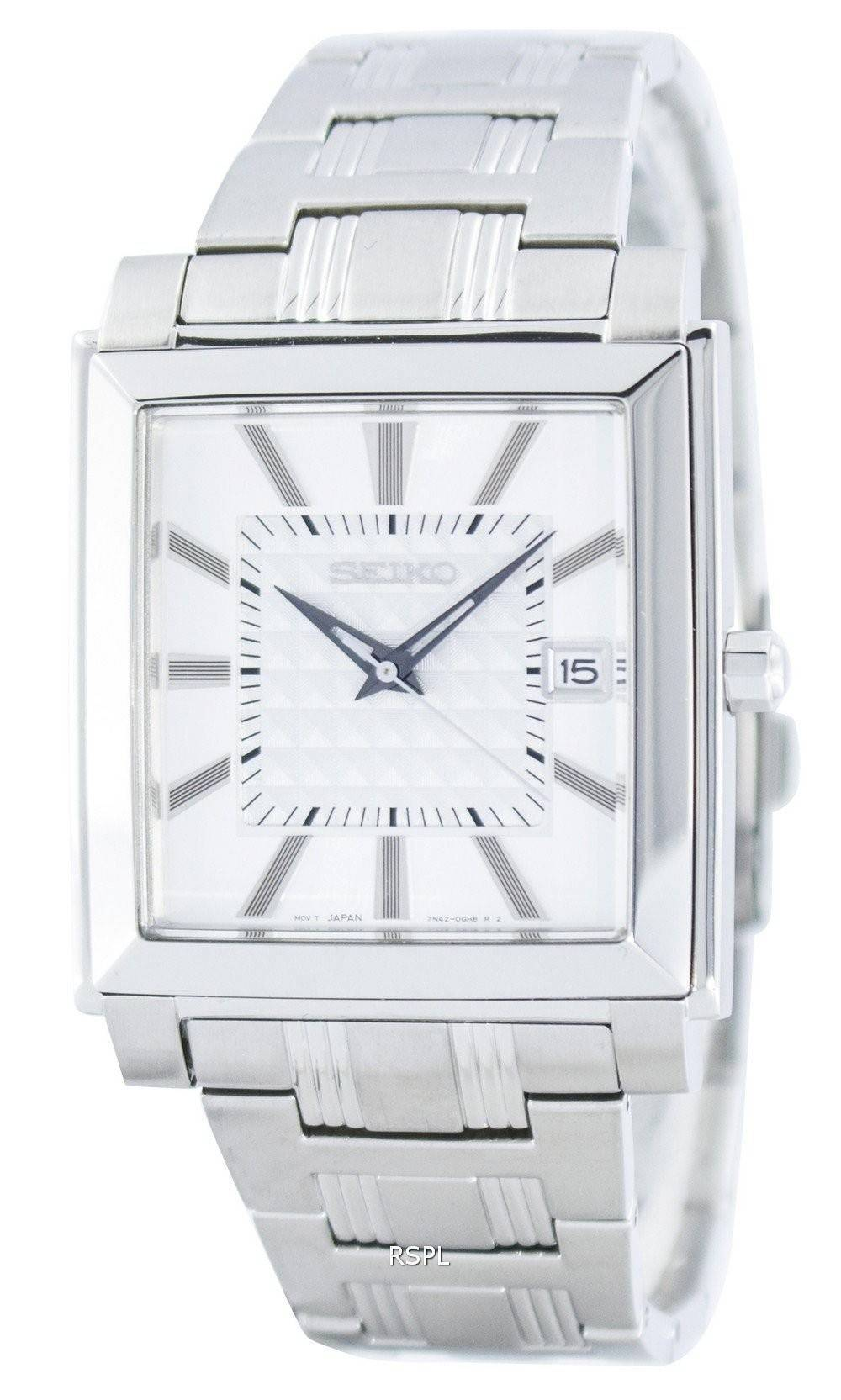 Maserati For Sale >> Seiko Quartz Square Shape SGEE03 SGEE03P1 SGEE03P Men's Watch - CityWatches.co.nz