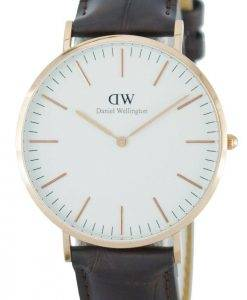 Daniel Wellington Classic York Quartz DW00100011 (0111DW) Mens Watch