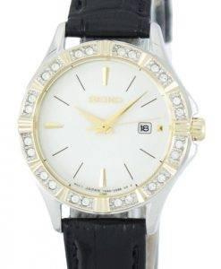 Seiko Quartz Diamond Accent SXDF24 SXDF24P1 SXDF24P Women's Watch