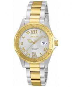 Invicta Pro Diver Quartz Crystal Accent 12852 Womens Watch