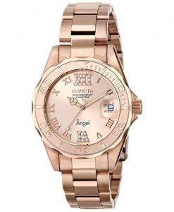 Invicta Angel Quartz Crystal Accent 200M 14398 Womens Watch