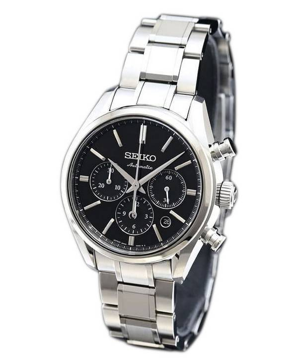 Seiko presage automatic chronograph japan made sark007 mens watch for Watches japan