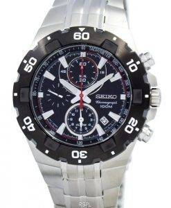 Seiko Alarm Chronograph SNAD35 SNAD35P1 SNAD35P Men's Watch