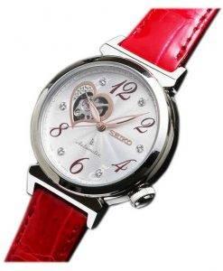 Seiko Lukia Automatic Swarovski Crystal Japan Made SSVM023 Womens Watch