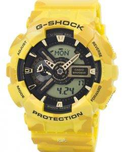 Casio G-Shock Camouflage Series Analog-Digital GA-110CM-9A Mens Watch