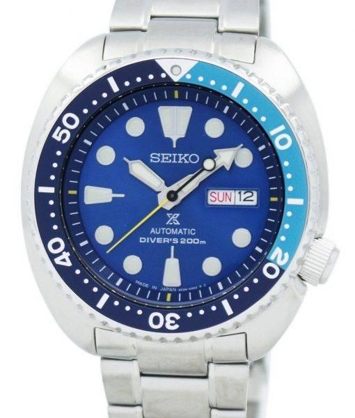 "Seiko Prospex ""BLUE LAGOON"" Automatic Diver's 200M Japan Made SRPB11 SRPB11J1 SRPB11J Men's Watch"