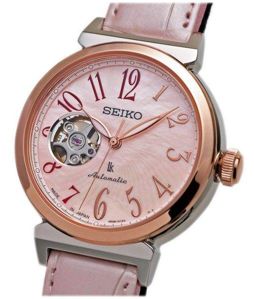 Seiko Lukia Automatic Sakura Limited Edition Japan Made SSVM032 Women's Watch