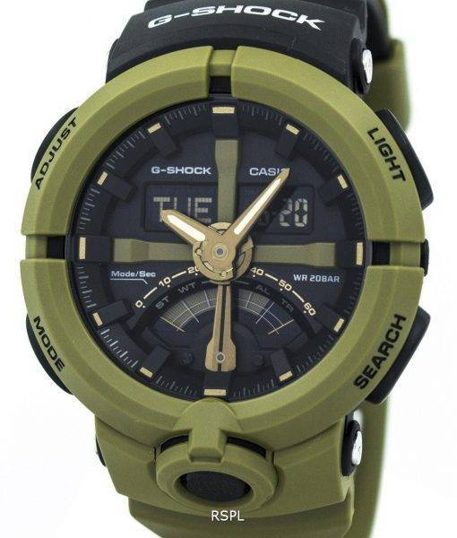 Casio G-Shock Analog Digital 200M GA-500P-3A Men's Watch