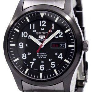 Seiko 5 Sports Automatic Japan Made SNZG17J1 SNZG17J Mens Watch