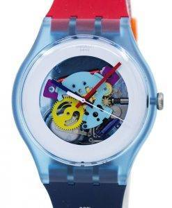 Swatch Originals Color My Lacquered Quartz SUOS101 Unisex Watch