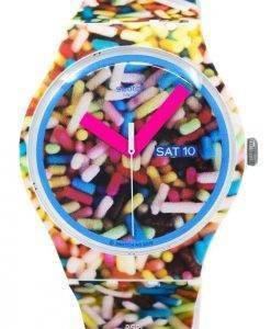 Swatch Originals Sprinkled Quartz SUOW705 Unisex Watch