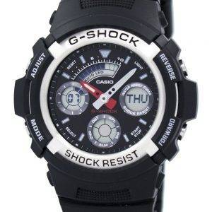 Casio G-shock Analog digital World Time Watch AW-590-1ADR Mens Watch