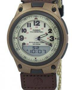 Casio Analog Digital Telememo Illuminator AW-80V-5BVDF AW-80V-5BV Mens Watch