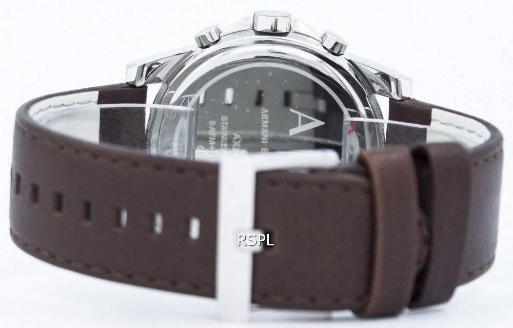 Armani Exchange Quartz Chronograph Blue Dial AX2501 Mens Watch ... f714756bd96de