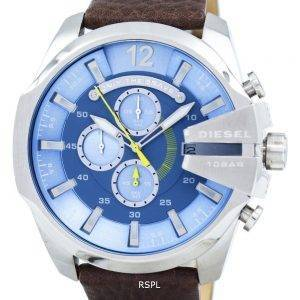 Diesel Mega Chief Chronograph Blue Dial DZ4281 Mens Watch