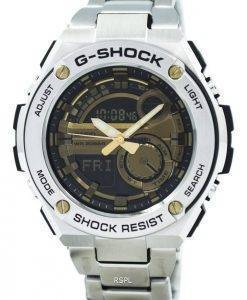 Casio G-Shock G-Steel Analog Digital World Time GST-210D-9A Mens Watch