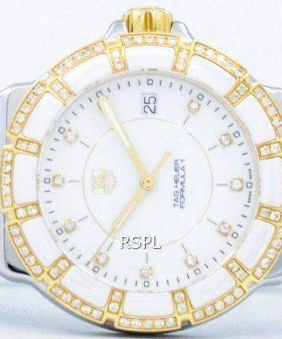 TAG Heuer Formula 1 Diamond Accent Quartz 200M WAH1221.BB0865 Women's Watch