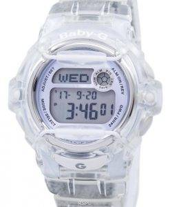 Casio Baby-G Shock Resistant Digital World Time Quartz BG-169R-7E Women's Watch