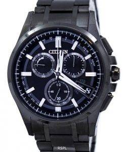 Citizen Attesa Direct Flight Eco-Drive Chronograph Power Reserve Alarm BY0094-87E Men's Watch