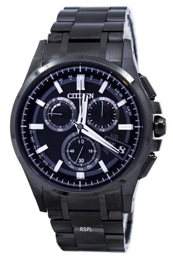 Citizen Attesa Direct Flight Eco-Drive Chronograph Power Reserve Alarm BY0094-87E Men's Watch