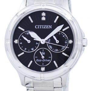 Citizen Eco-Drive Diamond Accent FD2030-51E Women's Watch