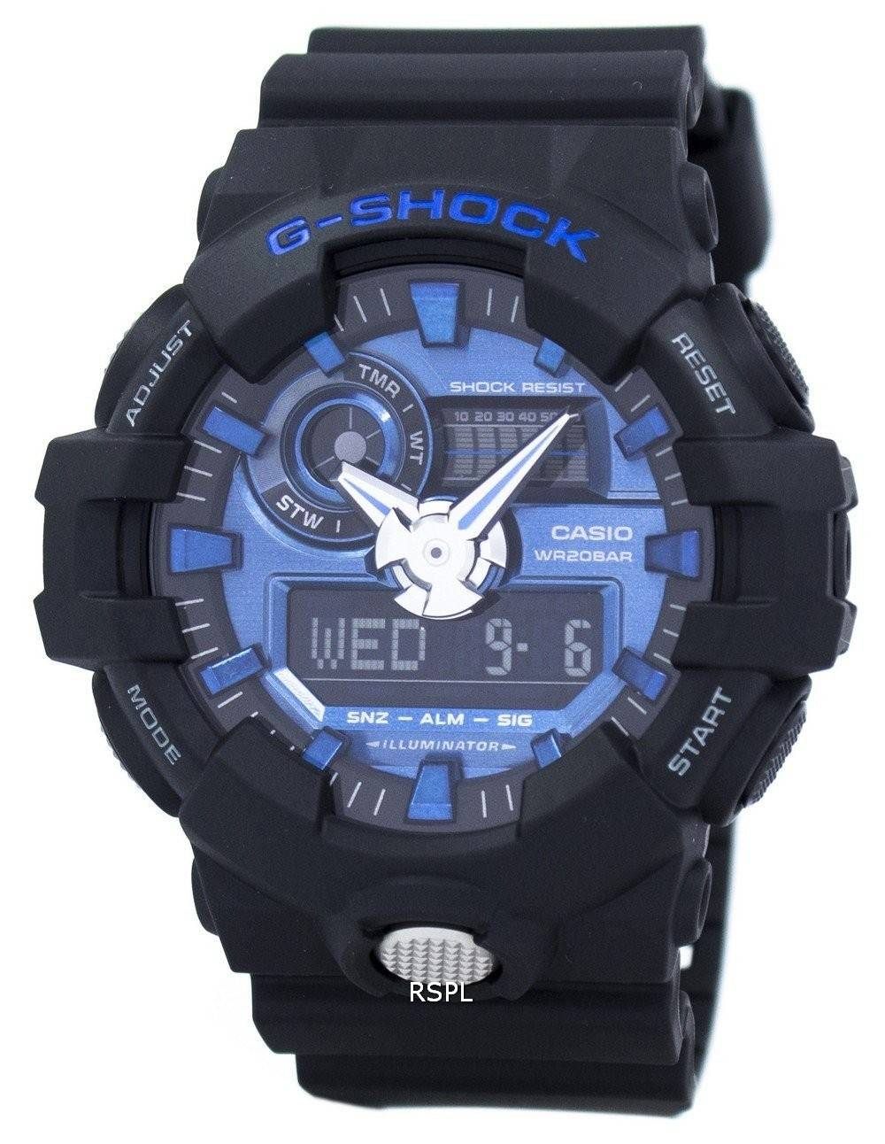 a8646054114 Casio G-Shock Analog Digital 200M GA-710-1A2 Men s Watch ...