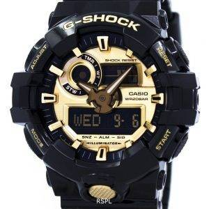 Casio G-Shock Analog Digital 200M GA-710GB-1A Men's Watch