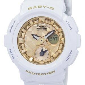 Casio Baby-G Shock Resistant World Time Analog Digital BGA-195M-7A Women's Watch