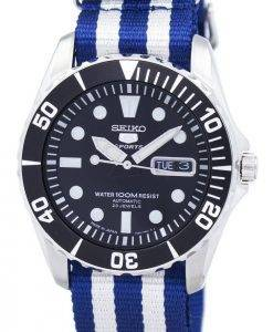 Seiko 5 Sports Automatic 23 Jewels NATO Strap SNZF17J1-NATO2 Men's Watch