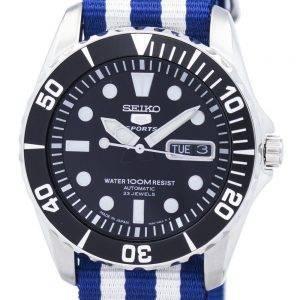Seiko 5 Sports Automatic 23 Jewels NATO Strap SNZF17J1-NATO2 Men's Watch