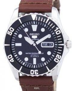Seiko 5 Sports Automatic 23 Jewels Canvas Strap SNZF17J1-NS1 Men's Watch