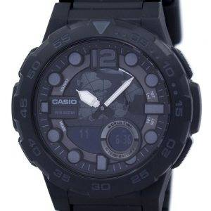 Casio World Time Alarm Analog Digital AEQ-100W-1BV Men's Watch