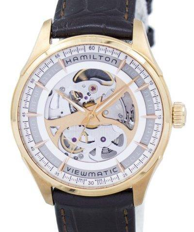Hamilton Jazzmaster Viewmatic Skeleton Automatic H42545551 Men's Watch