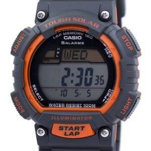Casio Tough Solar Illuminator Lap Memory Alarm Digital STL-S100H-4AV Men's Watch