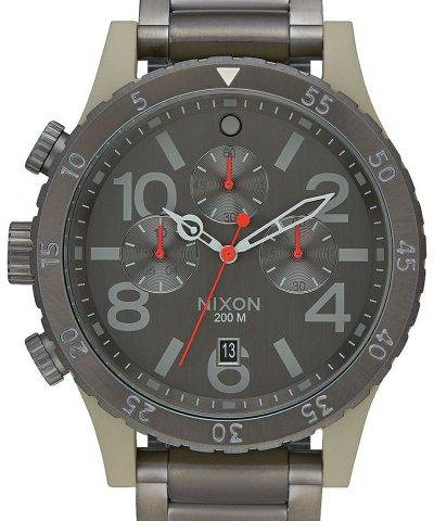Nixon 48-20 Chrono Quartz 200M A486-2220-00 Men's Watch
