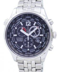 Citizen Eco Drive Chronograph World Time AT0360-50E AT0360 Men's Watch
