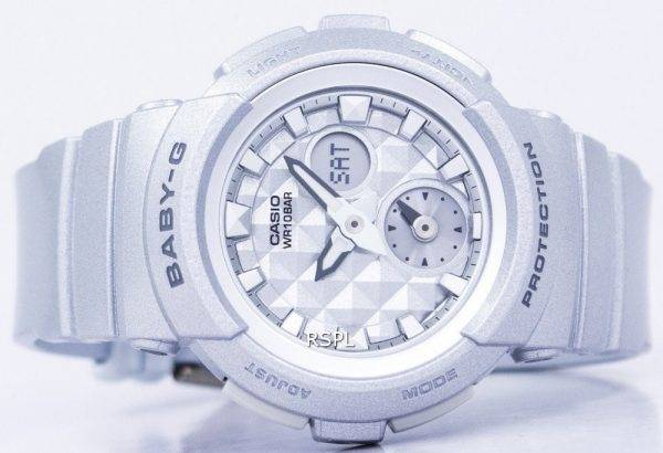a2694cd6322db Casio Baby-G Shock Resistant World Time Analog Digital BGA-195-8A Women s