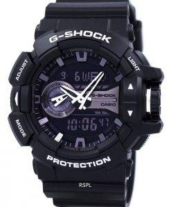 Casio G-Shock Analog Digital World Time GA-400GB-1A Mens Watch