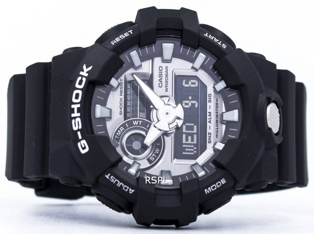 new style ded0a d01da Casio G-Shock Analog Digital 200M GA-710-1A Men's Watch