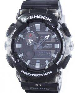 Casio G-Shock G-LIDE Tide Graph Thermometer Moon Phase GAX-100MSB-1A Men's Watch