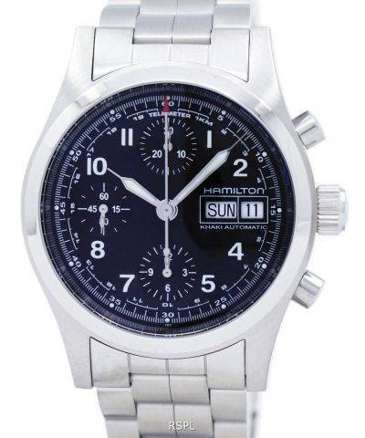 6454ed5b7 Hamilton Khaki Field Chronograph Automatic H71416137 Men's Watch: A ...