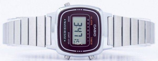 Casio Alarm Digital LA-670WA-4D Women's Watch