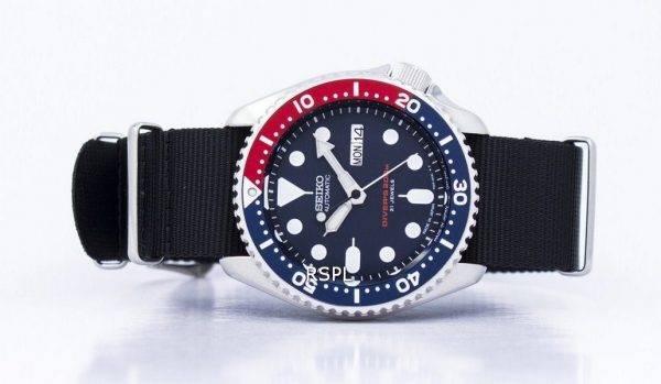 Seiko Automatic Divers 200M NATO Strap SKX009J1-NATO4 Mens Watch