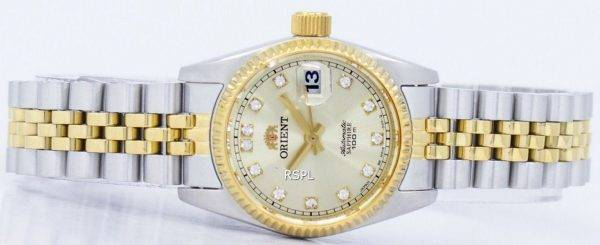 Orient Automatic Japan Made Diamond Accent SNR16002C Women's Watch
