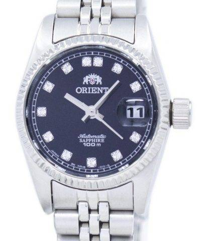 Orient Automatic Japan Made Diamond Accent SNR16003B Women's Watch